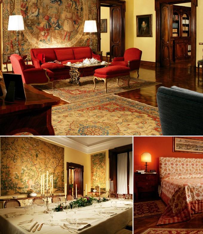 Villa Spaletti Trivelli hotel rome italie luxe
