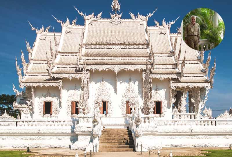 thailande wat rong khun temple blanc