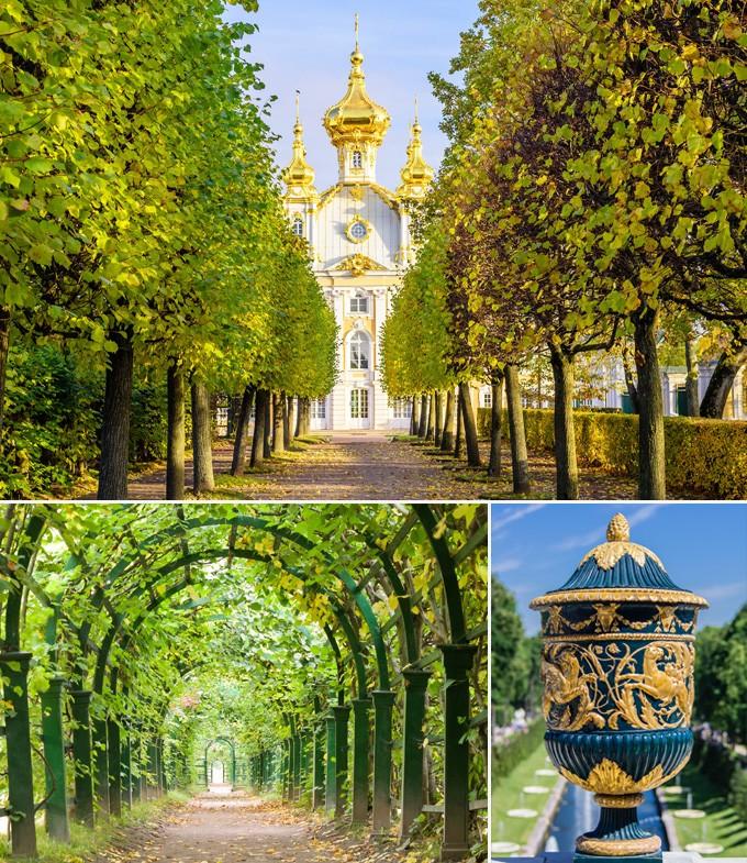 Russie StPetersbourg Palais Peterhof