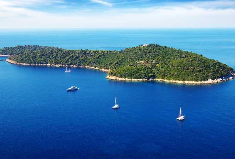 croatie dubrovnik ile de mljet a faire activite catamaran