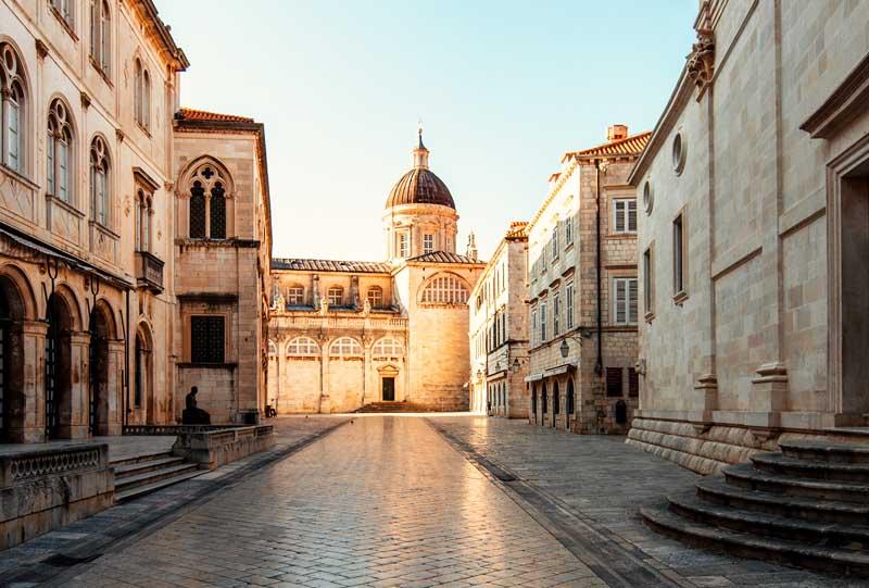 croatie vieille ville de dubrovnik