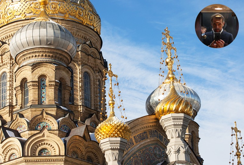 ile de Vassilievski St Petersbourg Russie a visiter