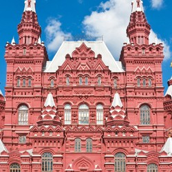 Historical Museum on Red Square, Moscow