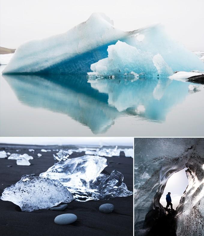 vatnajokull glacier reykacick islande