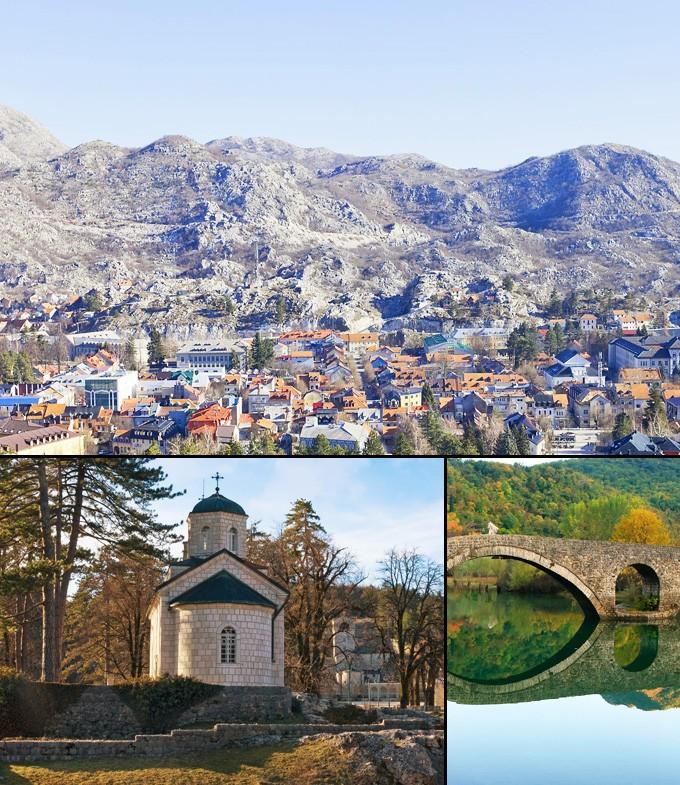 visiter Montenegro Cetinje capitale du trone maison