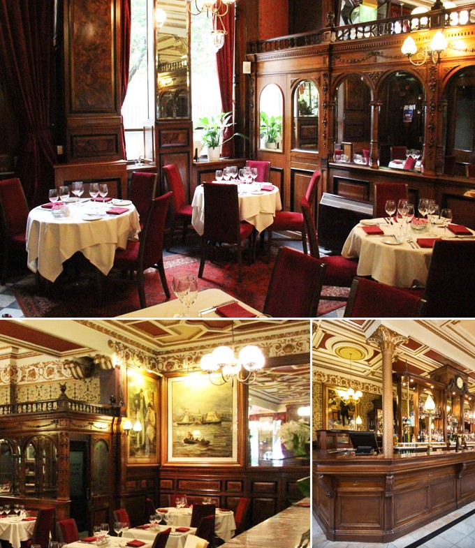 Cafe royale restaurants edimbourg ecosse
