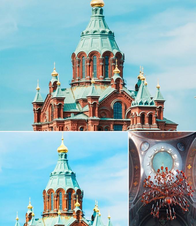 Cathedrale Ouspenski helsinki finlande a faire