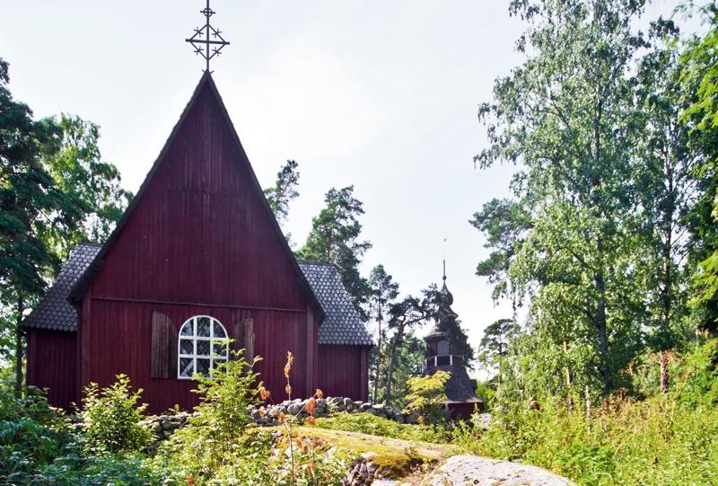 Finlande helsinki ile de Seurasaari a voir