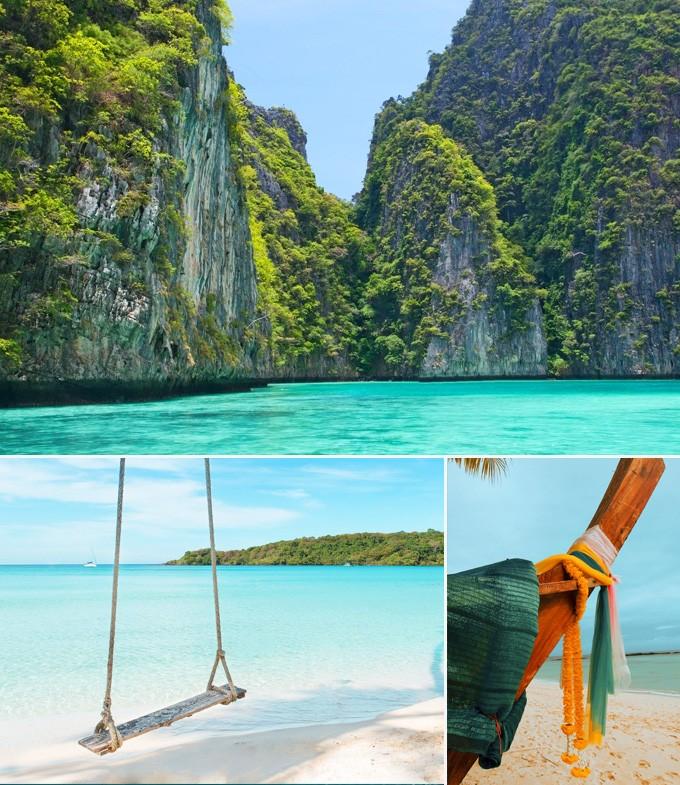 Ko Phi Phi thailande phuket a visiter