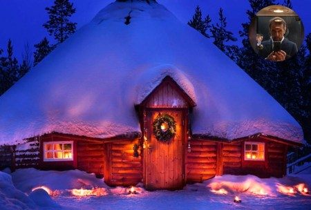 Joulukka foret Pere Noel Finland Rovaniemi a faire