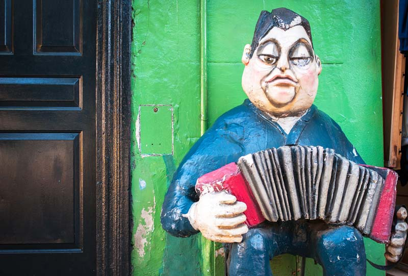 La boca caminito Buenos Aires Argentine a voir