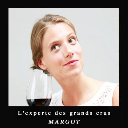 Margot l experte des grands crus globesetters