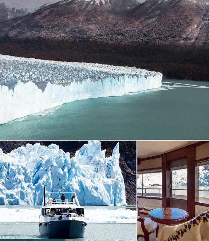 Navigation sur le Lago Argentino Argentine a faire
