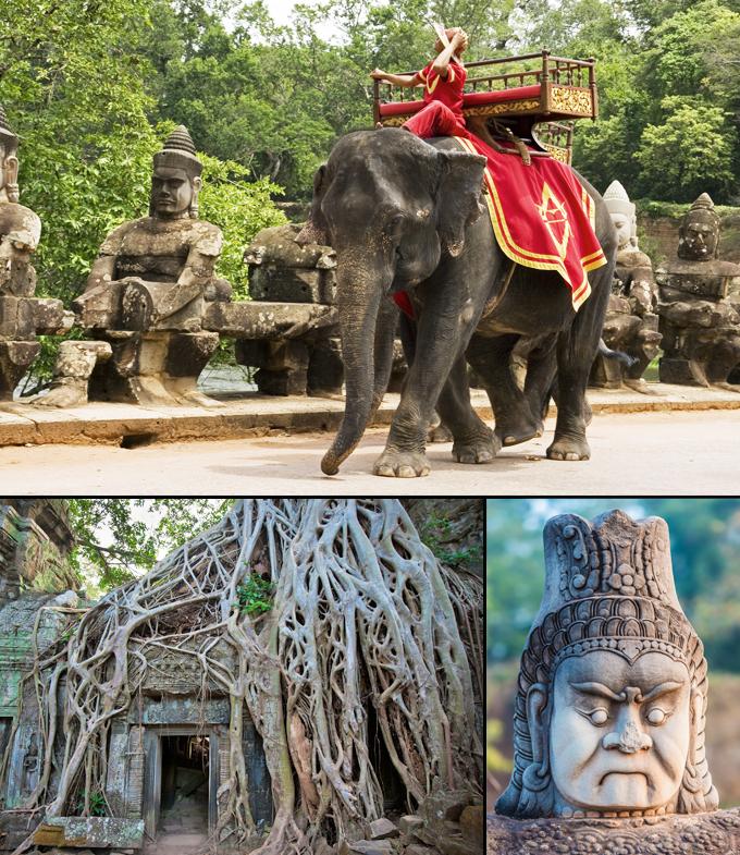 Angkor temple un site archeologique Cambodge a voir