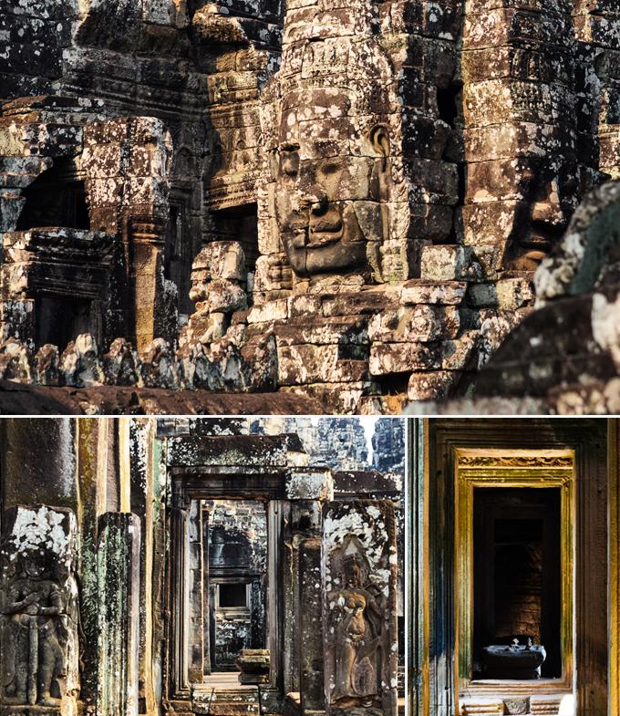 Bayon temple Angkor Cambodge a faire