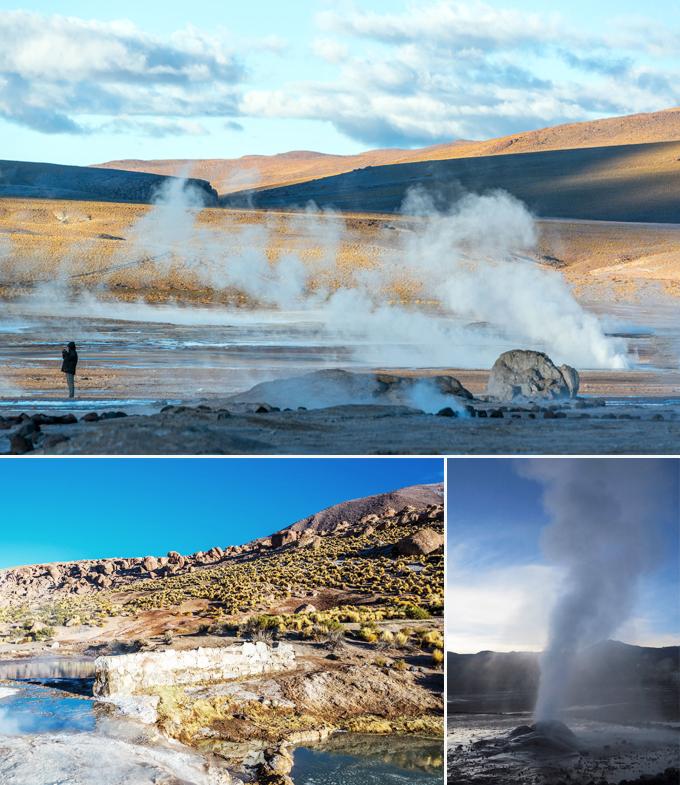 Geyser del Tatio San Pedro de Atacama chili a faire