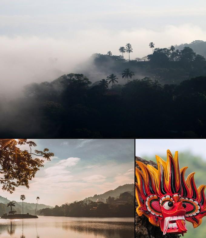 Kandy jungle Sri Lanka spiritisme dans l'ancienne capitale des rois a faire