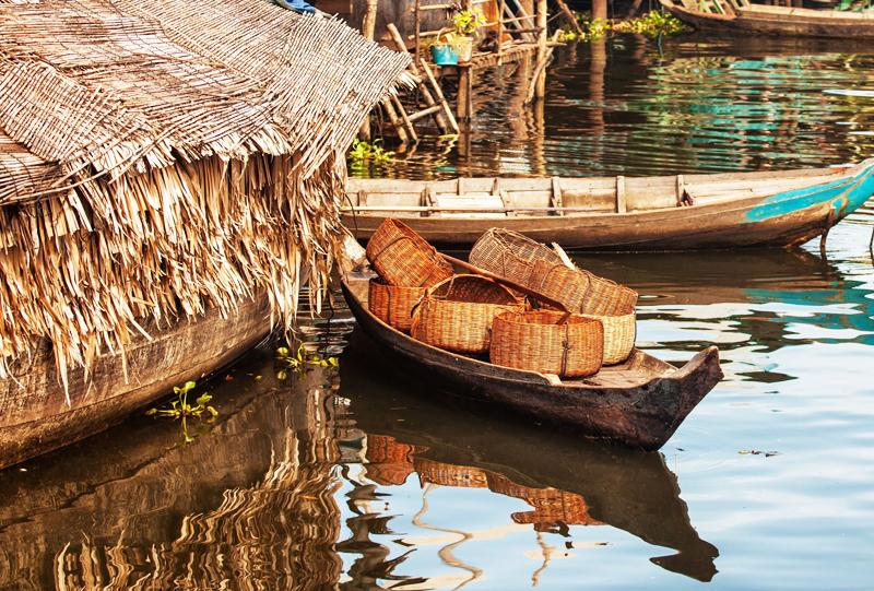 Kompong Khleang village flottant Angkor Cambodge a voir