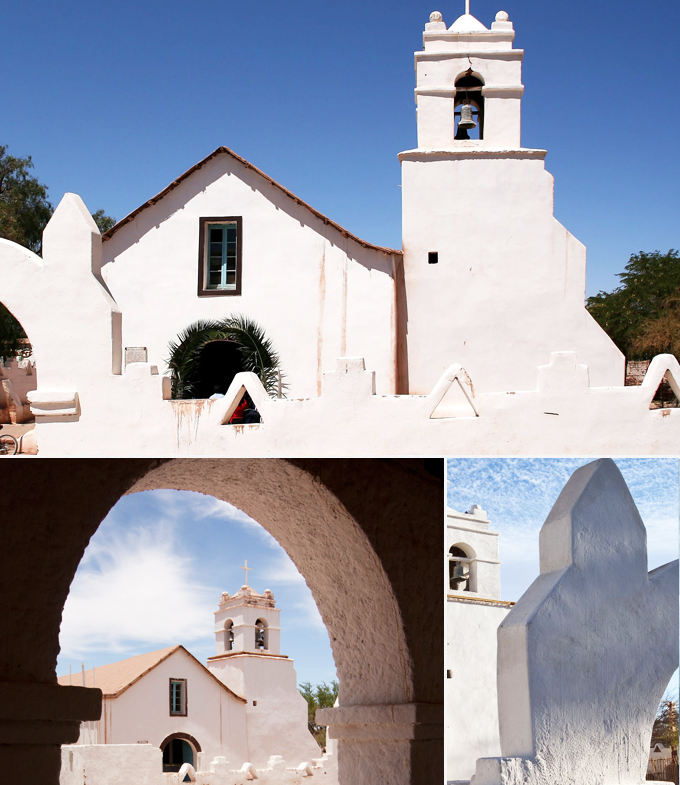 eglise de San Pedro de Atacama chili a faire