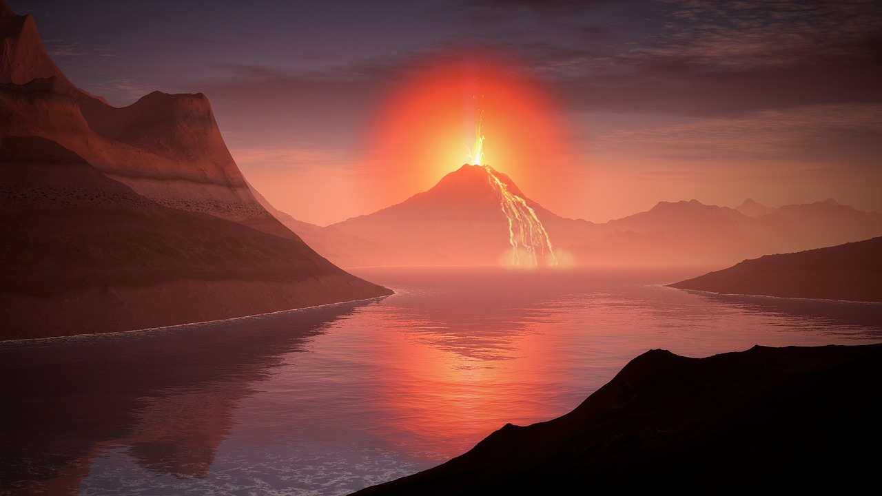 What would happen if a Supervolcano bursts in 2021?