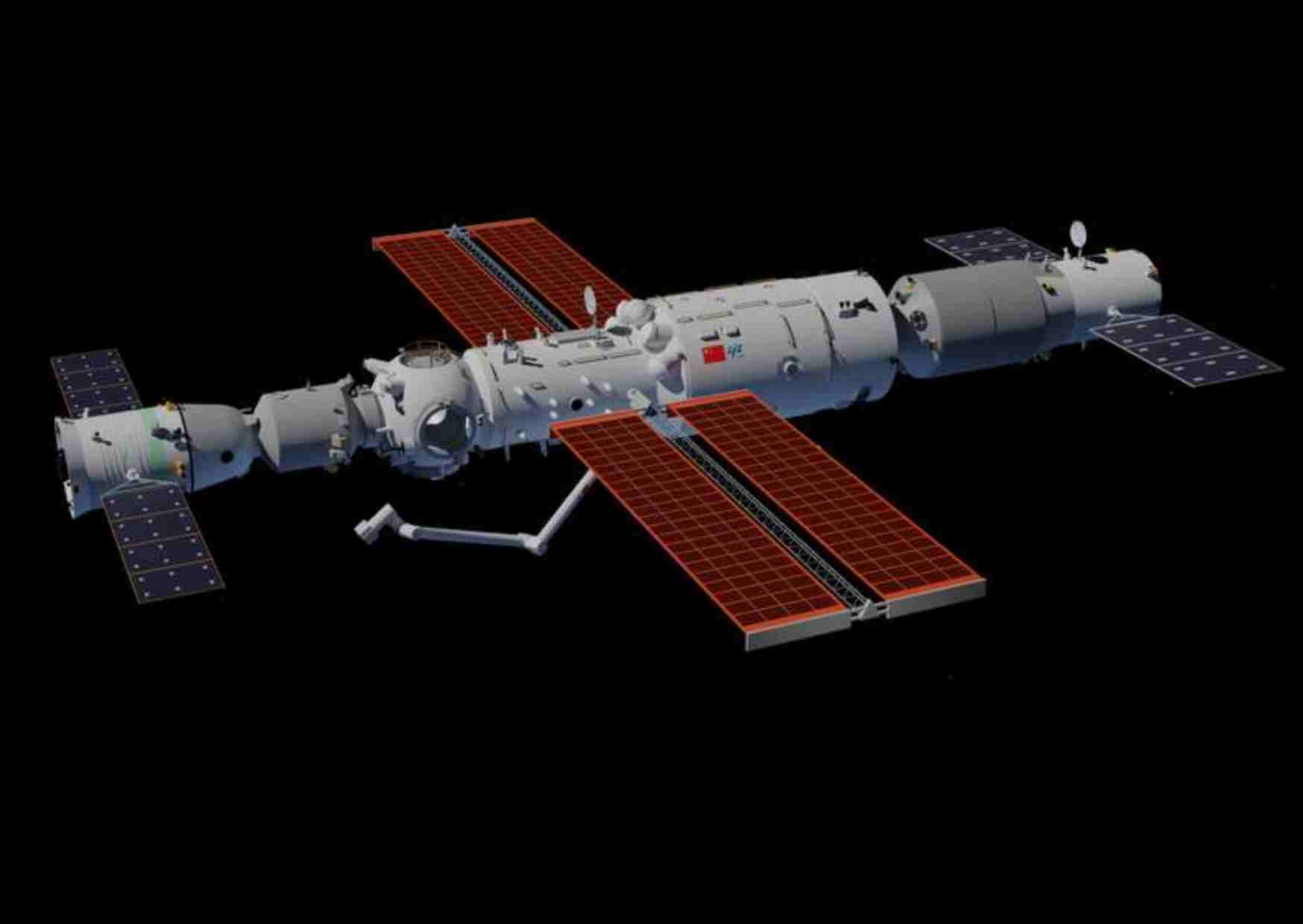 Complete information about China's Tiangong space station