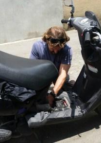 skooter road repairs