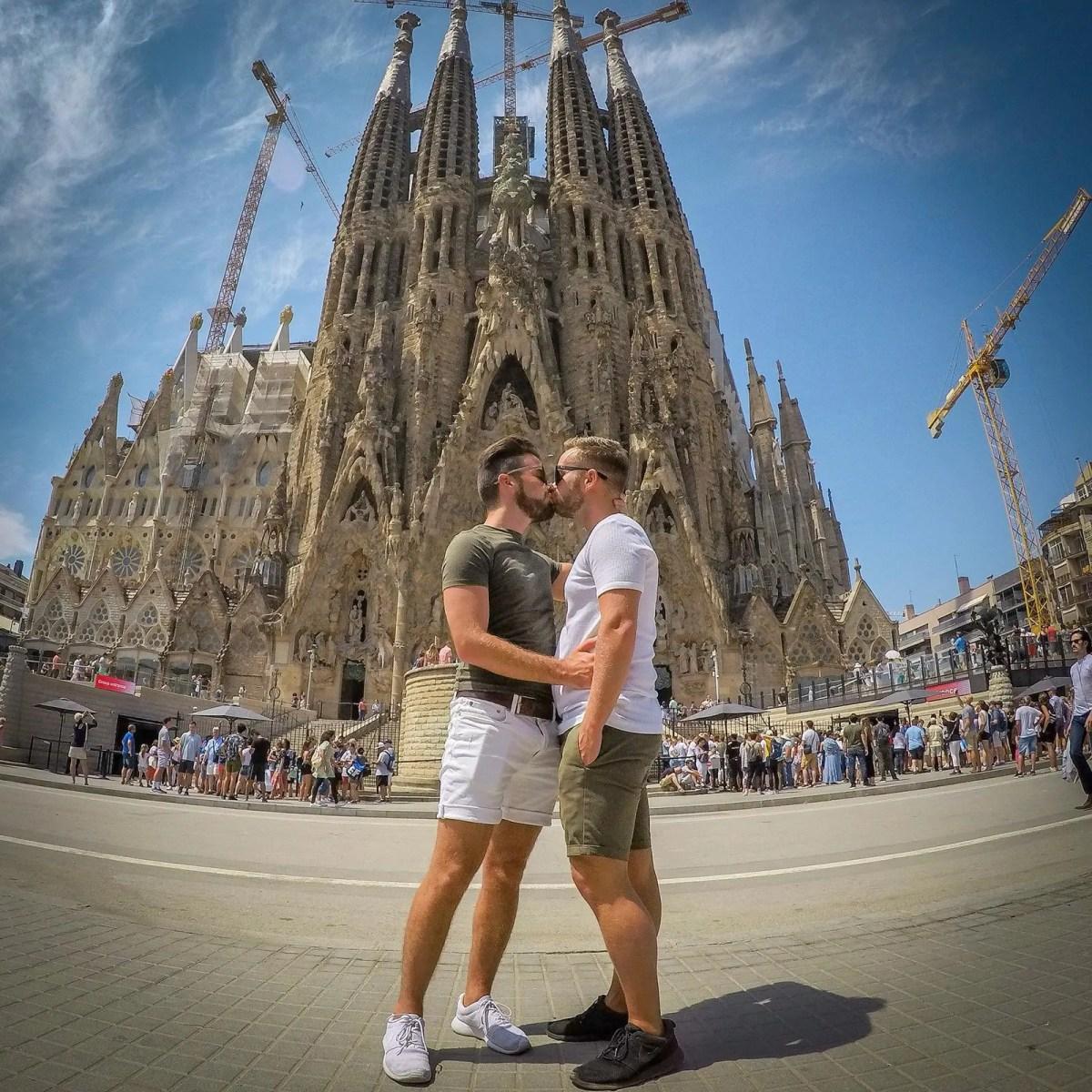 Barcelona gay tours Sagrada Familia