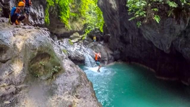 Kawasan Falls: Canyoneering in Cebu Badian