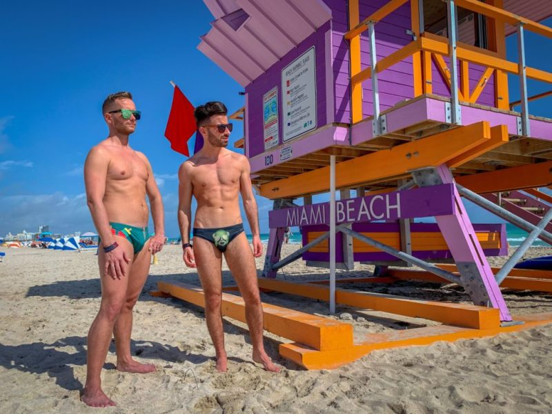 gay beach Miami