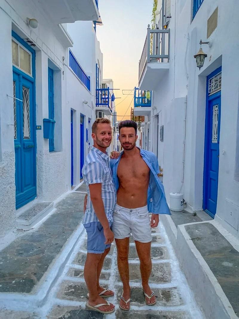 Gay travel to europe