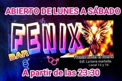 Fenix Marbella gay bar