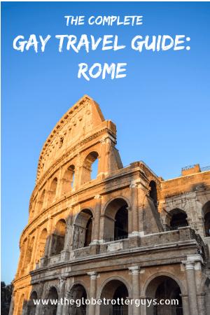Rome pin