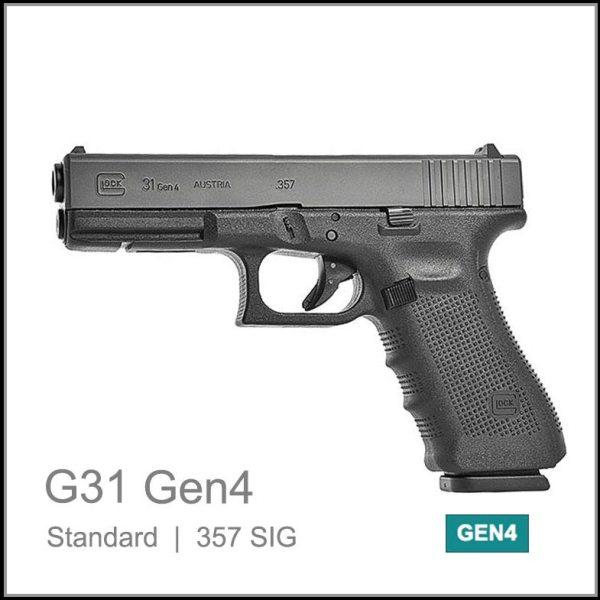 Glock 31 Gen 4 357SIG calibre