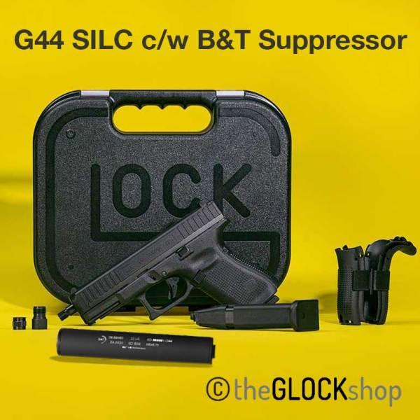 Glock 44 SILC with suppressor