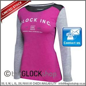 Glock women's baseball T-shirt