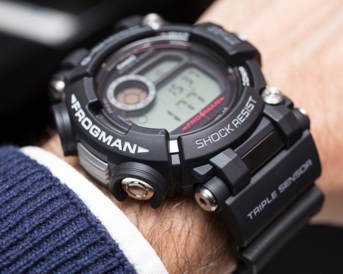 The Casio G-Shock Frogman