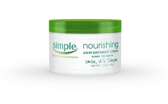 simple 24 hr day/night moisturizer