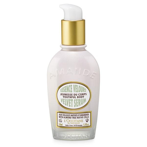 l'occitane almond velvet body serum