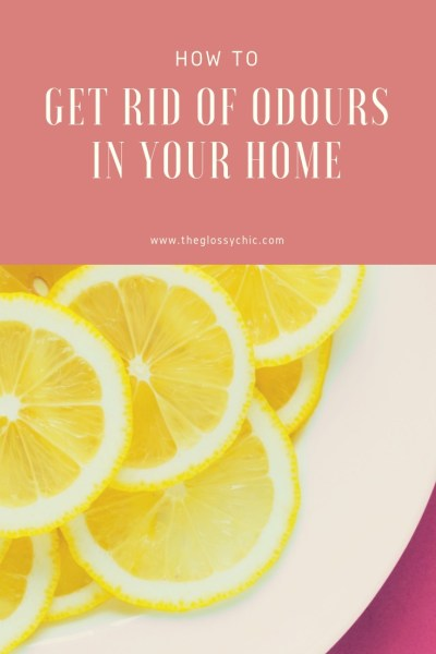 how to get rid of odours in your home