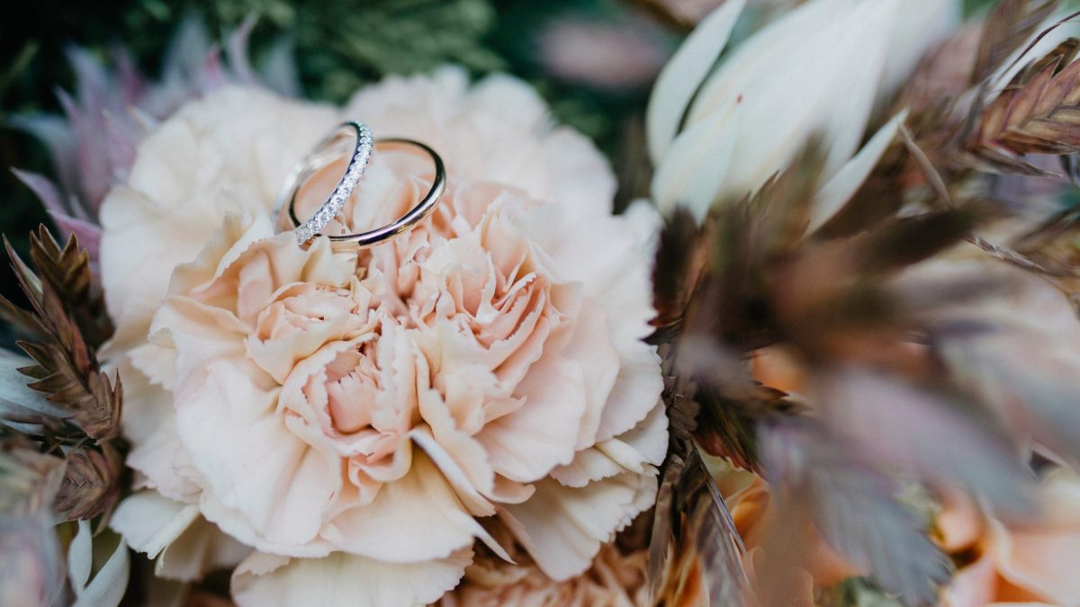 HOW ENGAGEMENT AND WEDDING RINGS CAME ABOUT