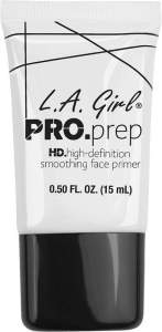 L.A. Girl Pro Prep HD high definition smoothing Face Primer