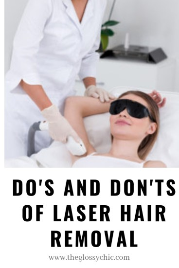 Do's and Don'ts of laser hair removal