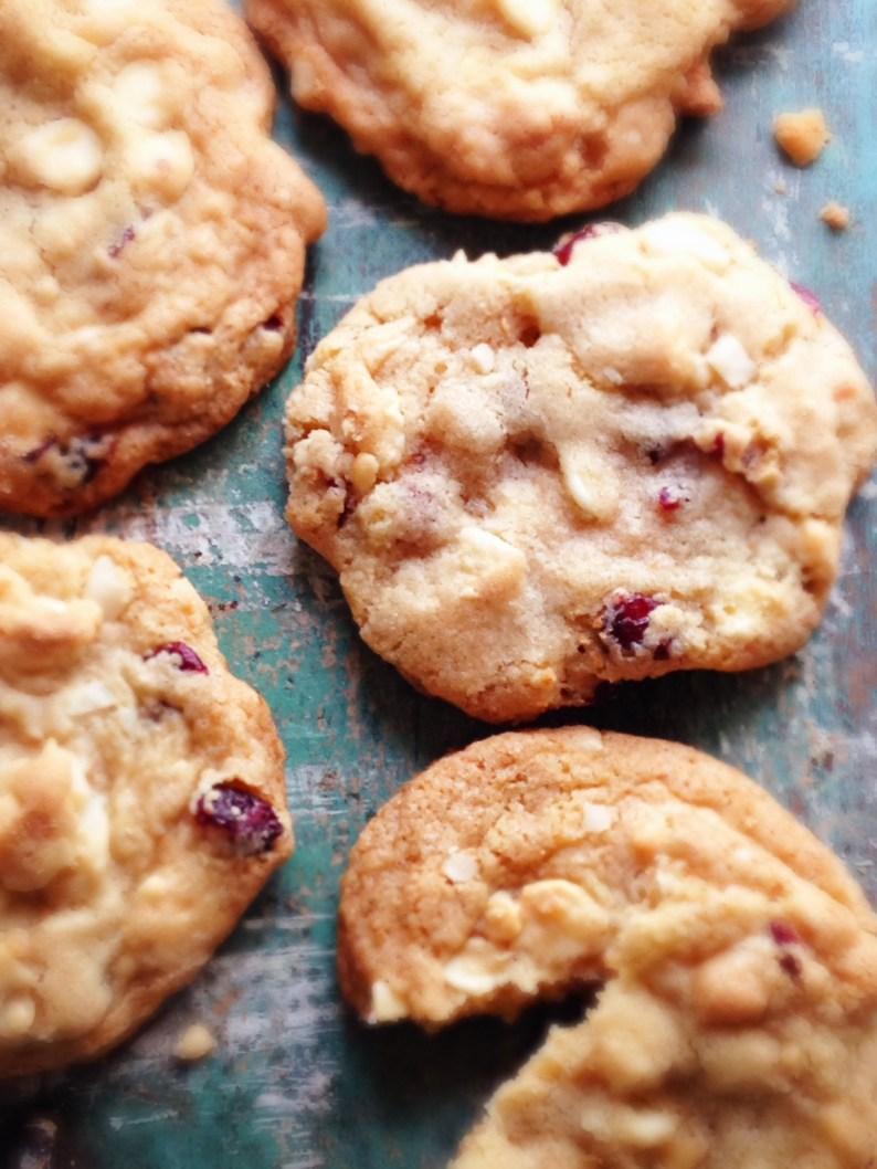 Cran. Macademia Nut Cookies II