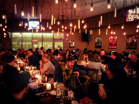 Recap and Photos from Battle & Brew's 2015 Hogwarts Christmas Feast. Recap by The Gluttonous Geek.