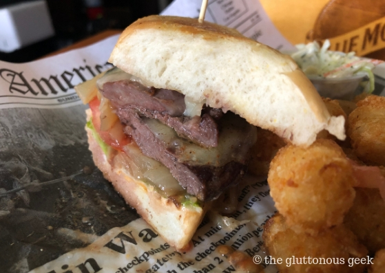 Steak Sandwich at Brehon Pub in Chicago. Photo by The Gluttonous Geek.