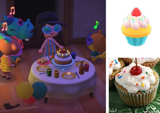 New Horizons Birthday Cupcakes. Recipe by The Gluttonous Geek.