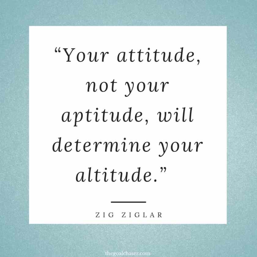 Quotes about attitude is everything