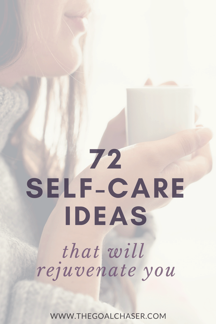 Self care can help you to operate at your best - for yourself and for the important people in your life. Here are 72 self care ideas for women for when you need to reflect, when you need to be energetic, creative, challenged, or when you simply need to rest.
