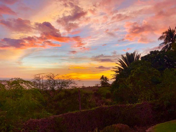 Amazing sunset on the Big Island