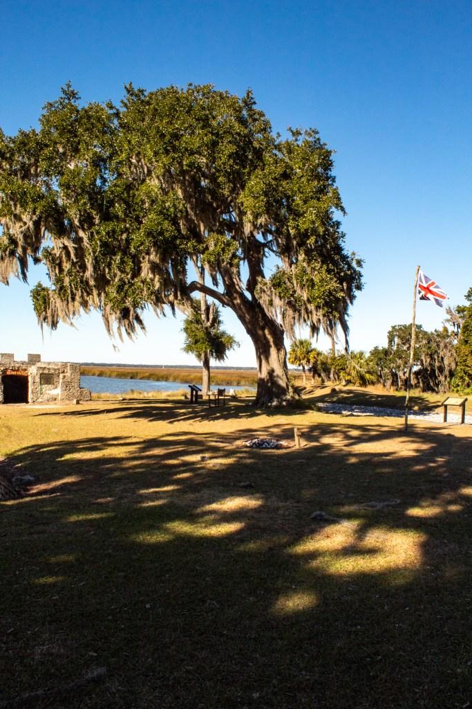 Fort Frederica on St. Simon's Island GA